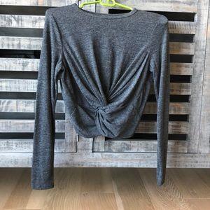 NWT Zara crop long sleeve